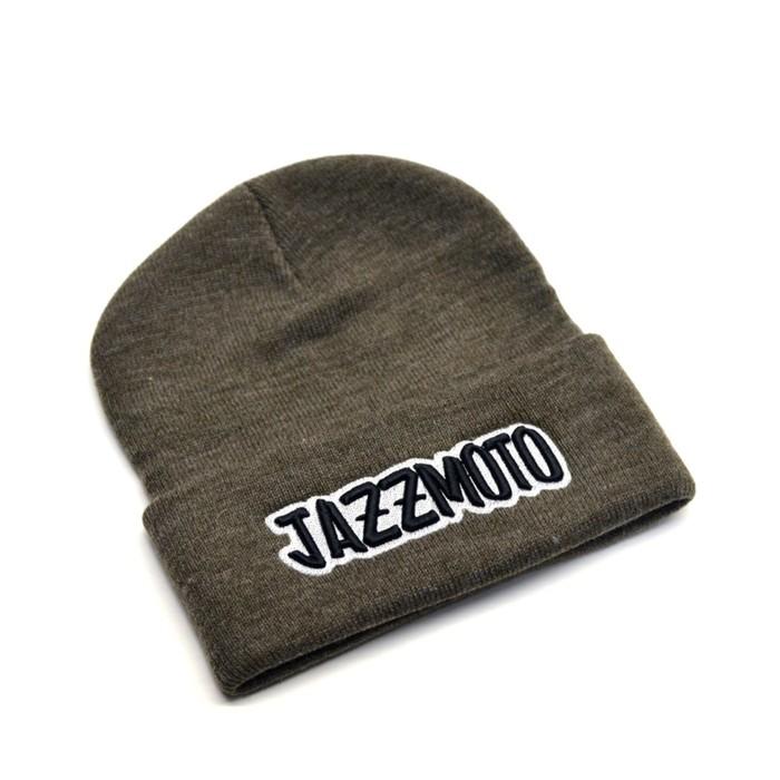 Шапка с подворотом Jazzmoto, серый