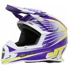 Шлем кросс JT Racing ALS 1.0, фиолетовый, размер М