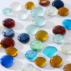 """Камень для декора """"Разноцветные плоские марблс"""" (250 г)"""