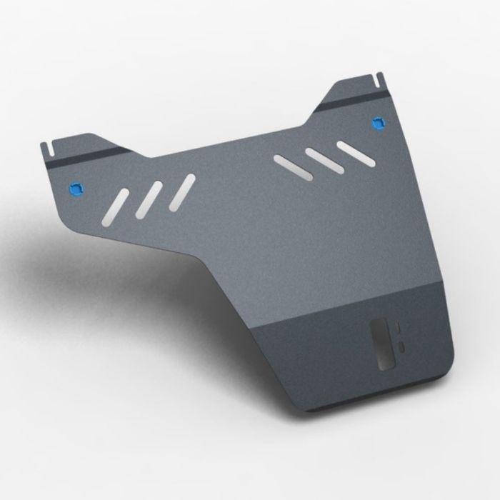 Защита раздат. коробки и крепеж MITSUBISHI Pajero IV (2006-) (3мм) 3,2 дизель АКПП - фото 7429401
