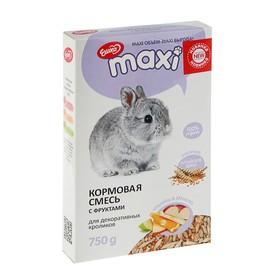 Кормовая смесь «Ешка MAXI» для кроликов, с фруктами, 750 г
