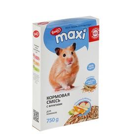 Кормовая смесь «ЕШКА MAXI» для хомяков, с фруктами, 750 г