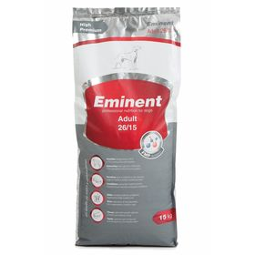 Сухой корм Eminent Adult 26/15 для собак мелких и средних пород, 15 кг.