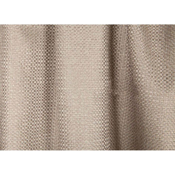 Ткань портьерная в рулоне, ширина 280 см, однотонная, блэкаут 84098 - фото 466379339