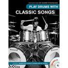 Play Drums With Classic Songs песни на ударных, 40 стр., язык: английский