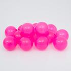 Шарики для сухого бассейна с рисунком, диаметр шара 7,5 см, набор 150 штук, цвет розовый