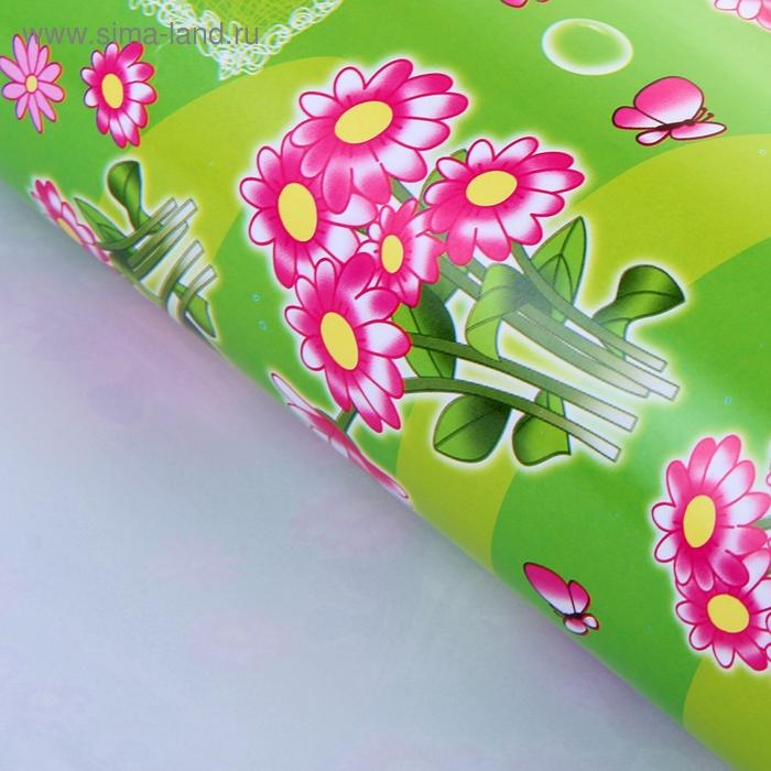 """Бумага упаковочная """"Цветочная поляна"""""""