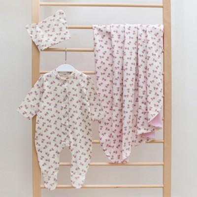Комплект детский НА ПРОГУЛКУ (лето), цвет розовый