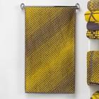 """Полотенце махровое """"Этель"""" Градиент цвет жёлтый, 70х130 см, 100% хл, 420 гр/м2"""