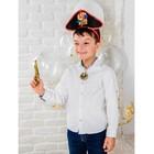 """Карнавальный костюм детский """"Меткий кулак"""" ободок, медальон, карта, пистолет, компас"""
