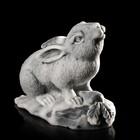 "Сувенир ""Кролик с морковкой"" 6,4 см"