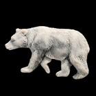 """Магнит """"Медведь бурый 3 (барельеф)"""" 3,5 см"""