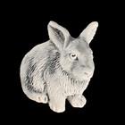 """Магнит """"Кролик (барельеф)"""" 3,5 см"""
