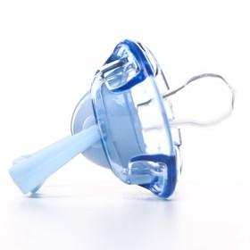 Пустышка самозакрывающаяся «Бабочка», силиконовая классическая, от 5 мес., цвета МИКС