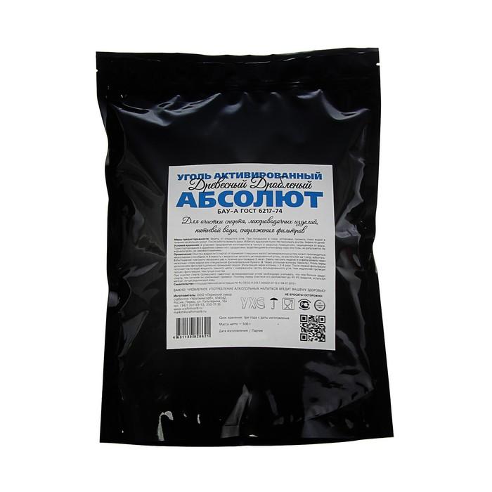 Уголь активированный  Абсолют,  дробленый, 500 г