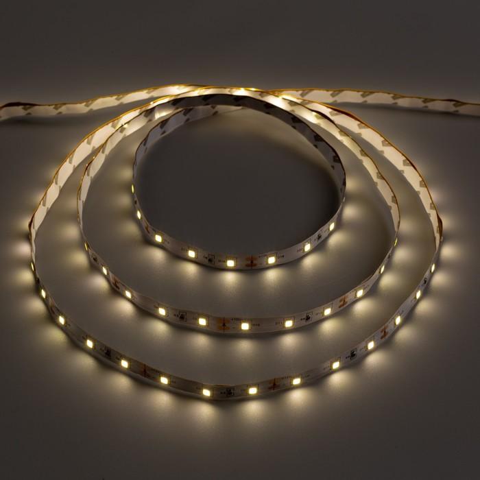 Светодиодная лента Ecola LED strip STD, 8 мм, 12 В, 4200К, 4.8 Вт, 60 Led/м, IP20, 5 м