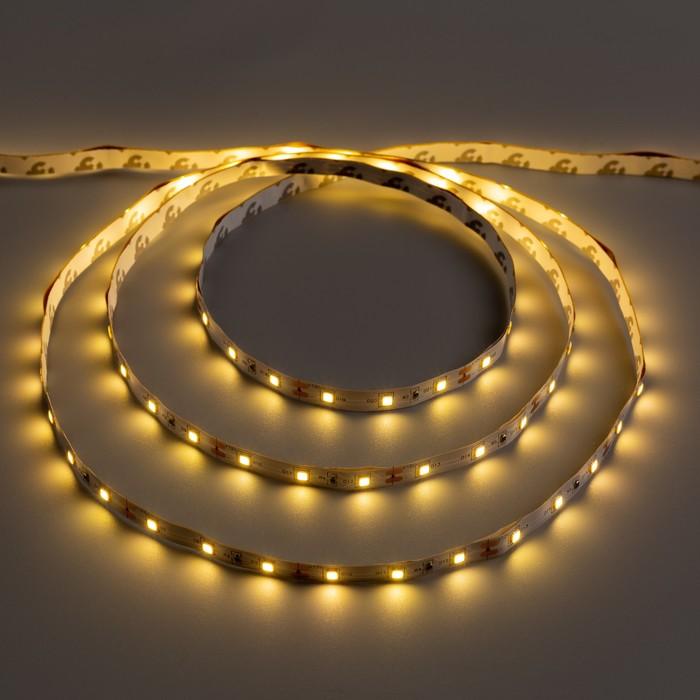 Светодиодная лента Ecola STD, 12В, SMD3528, 5 м, IP20, 4.8Вт/м, 60 LED/м, 2800К