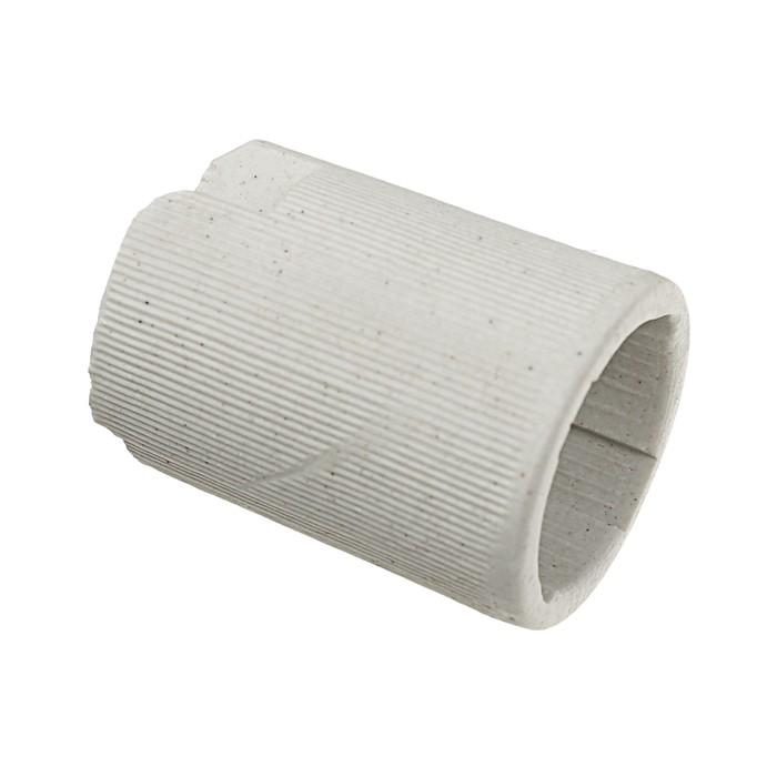 Патрон керамический Ecola base, Е14, Белый