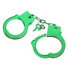 "Handcuffs ""Shine"", green"