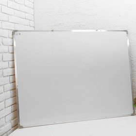 Доска двусторонняя, пробковая и магнитно-маркерная, 120 × 90 см