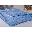 Одеяло Крокус облегченное 140х205, 1,0 кг, наполнитель пух первой категории (ТУ2), чехол тик   36800