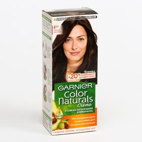 Краска для волос Garnier Color Naturals, тон 4 1/2, горький шоколад