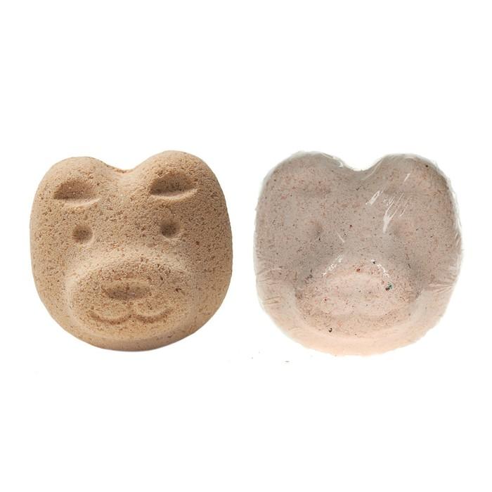"""Бурлящий шар для ванн """"Мишка"""", 60 г"""