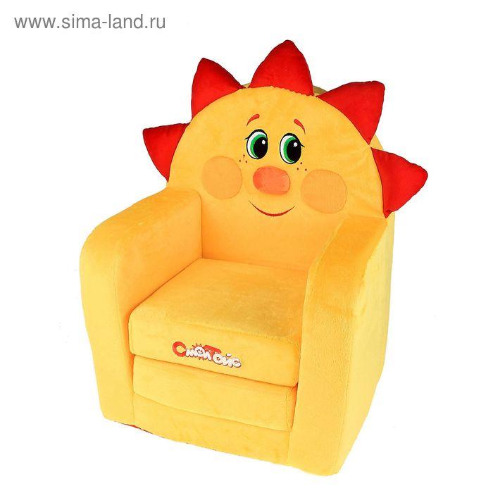 """Мягкая игрушка """"Кресло-кровать Солнышко"""""""