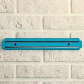 Mount magnetic knife 33 cm color blue