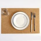 """Napkin kitchen 42х28 cm """"Rift"""", color beige"""
