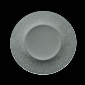 Тарелка обеденная 28 см Calicot Grey