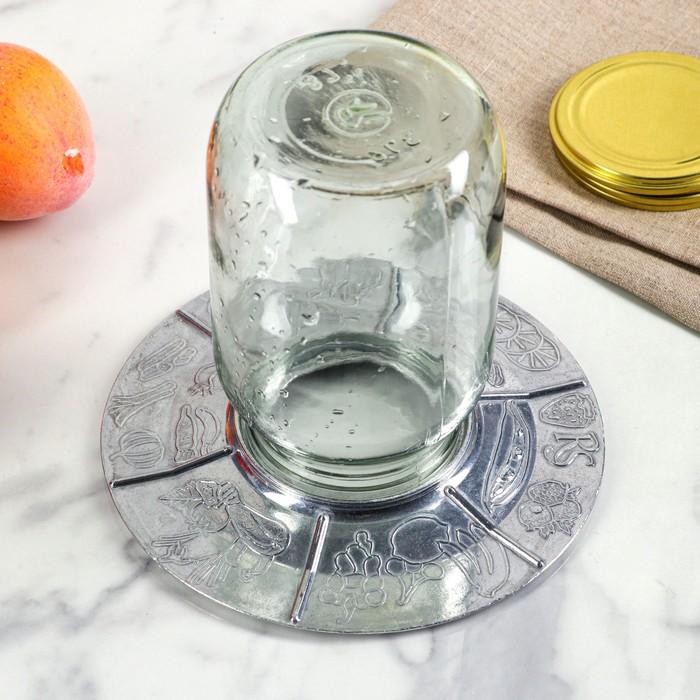 Стерилизатор для банок, литой алюминий, d-20 см - фото 485828
