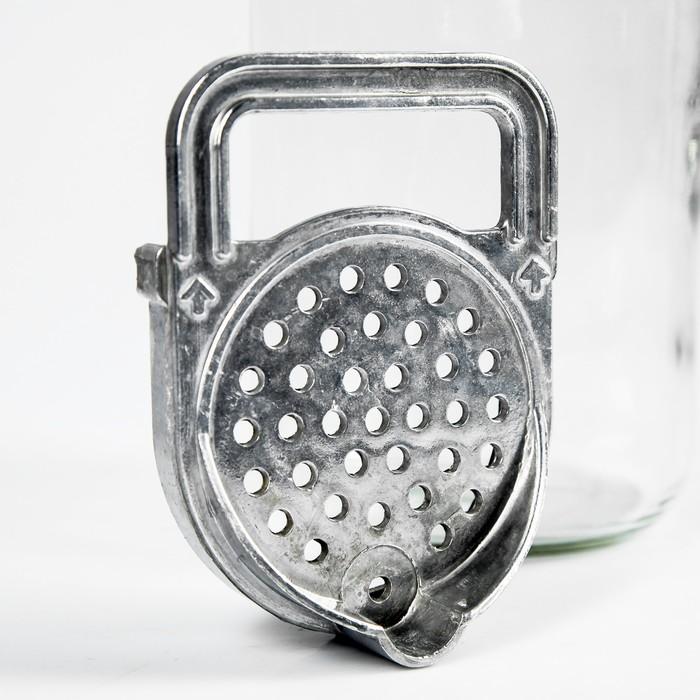 Устройство для слива жидкости, на банку, 9,5 см