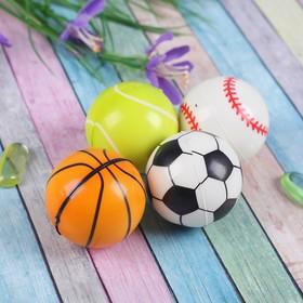 Мяч мягкий 'Спорт' 4,5 см, цвета МИКС Ош