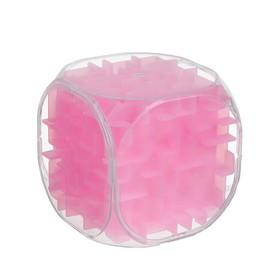 Головоломка 'Кубик', цвет розовый Ош