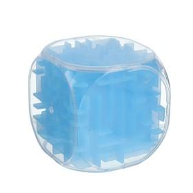 Головоломка 'Кубик', цвет голубой Ош