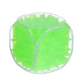 Головоломка 'Кубик', цвет зелёный Ош