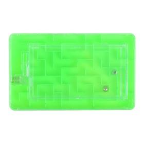 Головоломка 'Лабиринт', цвет зелёный Ош