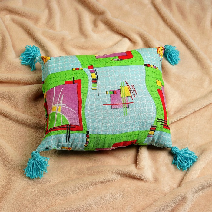 Подушка с лавандой и стружкой можжевельника, 40х30 см, микс