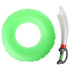 """Надувные игрушки """"Пиратский"""", набор: спасательный круг, надувная сабля"""