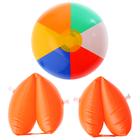 """Надувные игрушки """"Летняя вечеринка"""", набор: нарукавники 2 шт., мяч"""