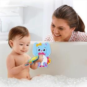 Зеркало мягкое для игры в ванной «Зайка»