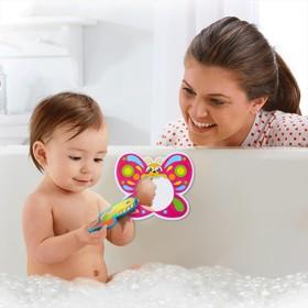 Зеркало мягкое для игры в ванной «Бабочка»