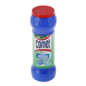 """Чистящий порошок Comet """"Сосна"""" универсальный, 475 г"""