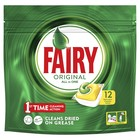 """Капсулы для посудомоечной машины Fairy All in One """"Лимон"""", 12 шт"""