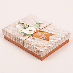 "Box gift ""to You for joy"" 10.5 x 14 x 3.5 cm"