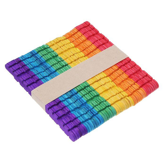 Счётные палочки цветные, с резными боками, набор 50 шт.