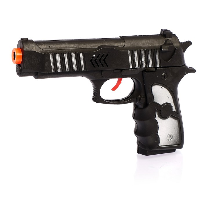 """Пистолет-трещотка """"Рок"""", с кобурой"""