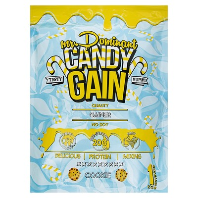 Гейнер mr. Dominant CANDY GAIN Печенье 1000 g