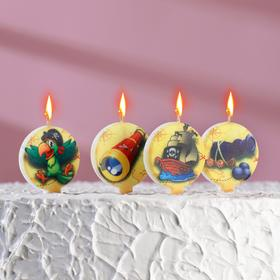 A set of candles in cake Pirate 5pcs